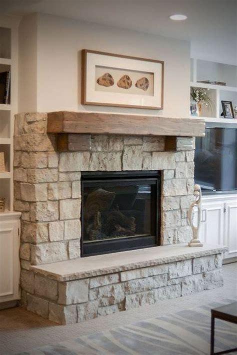 Cottage Style Fireplace   Custom Blend