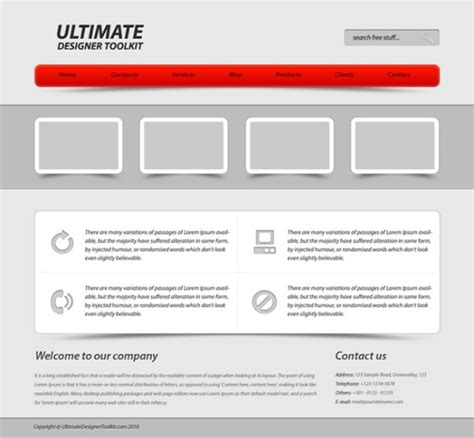 layout web simple 30 beautiful and detailed web layout tutorials
