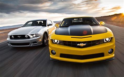 Mustang Gt Vs Camaro Ss by 2013 Chevrolet Camaro Ss 1le Vs 2013 Ford Mustang Gt