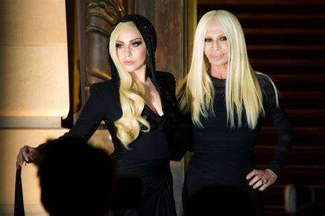 How To Smell Like Donatella Versace by Look To The Future Gaga And Donatella Versace Look