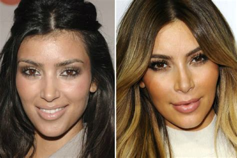 kardashians ethnic background a history of s cosmetic surgery obsession