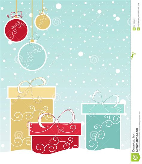 christmas gift design royalty free stock images image