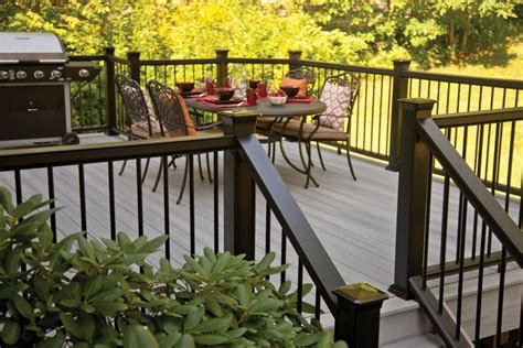 wrong  clean classic black deck railing