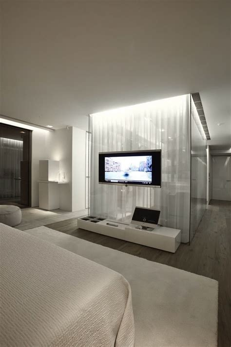 Bedroom Tv Bold Cosmopolitan House In Istanbul