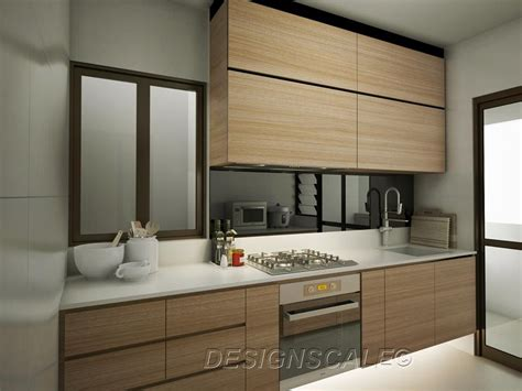 scandinavian kitchen design hdb bto 4 room scandinavian at dawson skyville