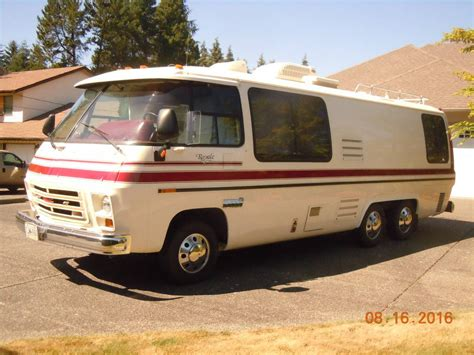 gmc royale for sale 1977 gmc royale 26ft motorhome for sale in langley