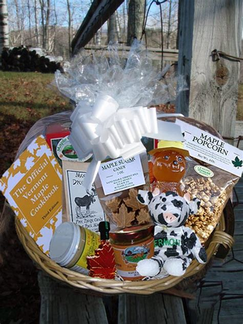 gift basket create your own with vermont products