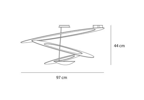 artemide pirce soffitto prezzo pirce lada da soffitto artemide milia shop
