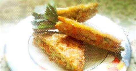 cara membuat roti gabin goreng isi sayur resep cara membuat gabin sayur isi kentang wortel ayam