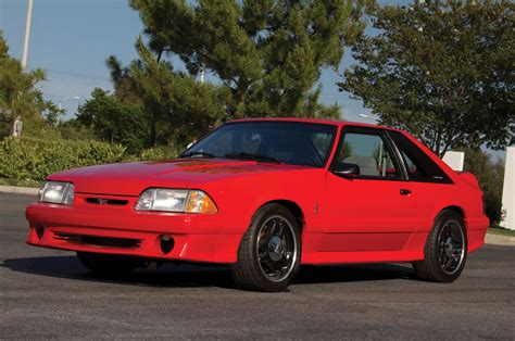 1993 ford mustang svt cobra r with 600 going up for