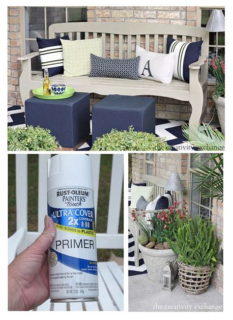 chalk paint outdoor furniture painting outdoor furniture and accessories