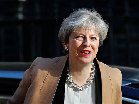 report theresa may is going to promise to end the eus