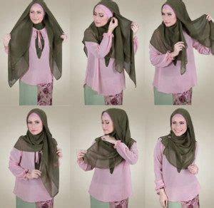 tutorial hijab organza menutup dada 12 tutorial hijab menutup dada untuk kebaya terbaru dan
