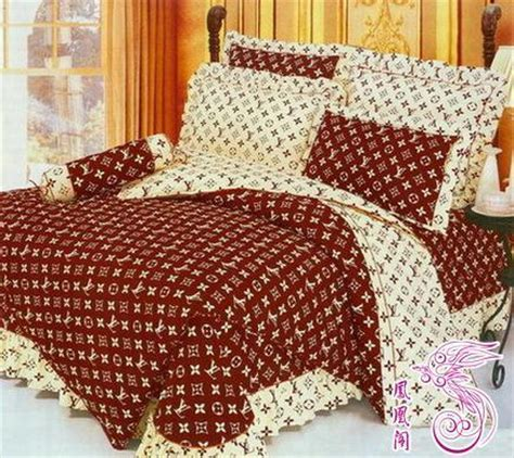 king louis vuitton bed set lv bedding sheet bedspread