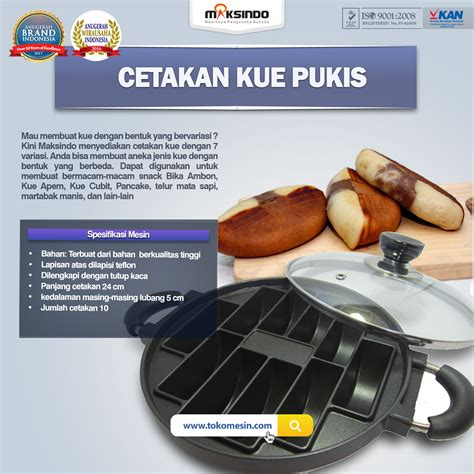 Jual Timbangan Kue Malang by Jual Cetakan Kue Pukis Di Malang Toko Mesin Maksindo Di