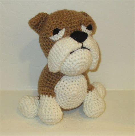 crochet pattern english bulldog plush english bulldog by kuddles and kritters crochet