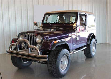 purple jeep cj we this plumb purple jeep cj7 restomod jk forum