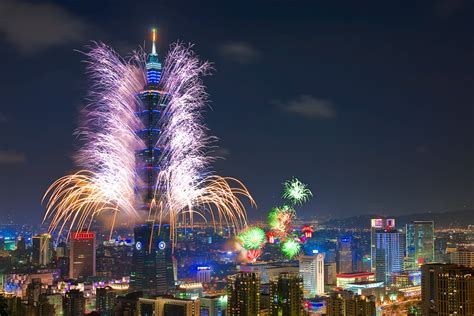 new year fireworks taipei using hotel points for new years