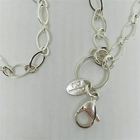 Origami Chain Link - origami owl origami owl 32 quot silver flat oval link custom