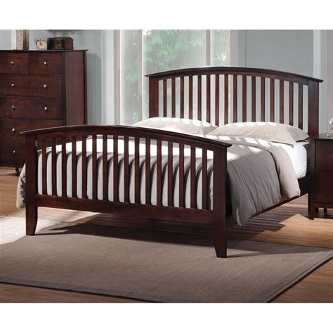 spindle bed king coaster king spindle bed in cappuccino ebay
