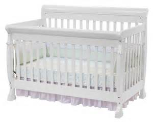 baby white crib davinci kalani 4 in 1 convertible baby crib in white w