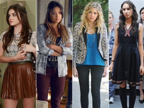 Pll Wardrobe by Best Pretty Liars Fashion Clothes From