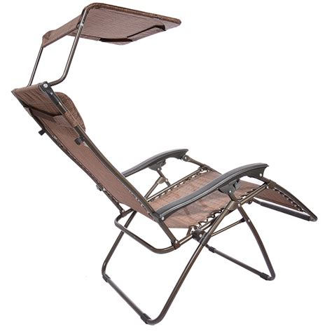 Zero Gravity Recliner Outdoor by Brown Outdoor Yard Folding Lounge Patio Chairs Zero