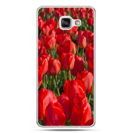 Galaxy Galaxy A510 galaxy a5 2016 a510 etui na telefon czerwone tulipany