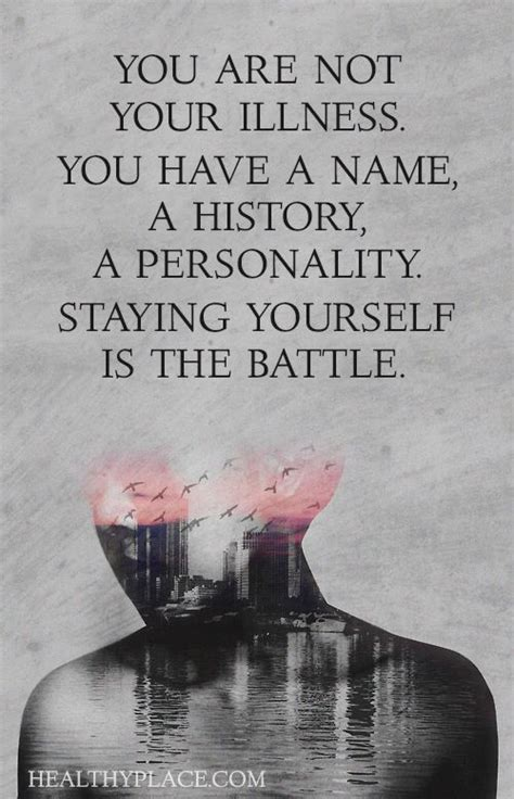 printable health quotes mental health stigma quote you are not your illness you