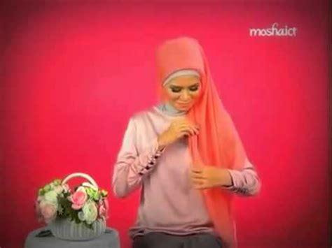 tutorial dandan yang cantik tutorial hijab jilbab segitiga yang mudah dan cantik