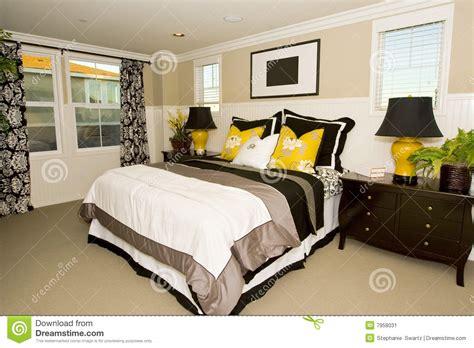 elegant master bedroom elegant master bedroom stock image image 7958031