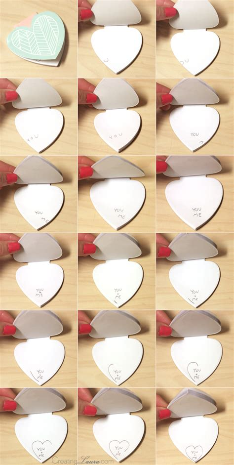 how to make a picture flip book creating diy flip book valentines