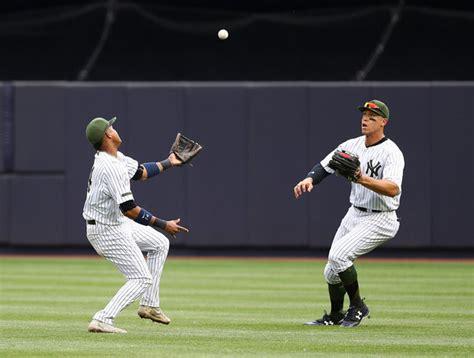 yankees avoid no hitter outlast a s rapid reaction nj com
