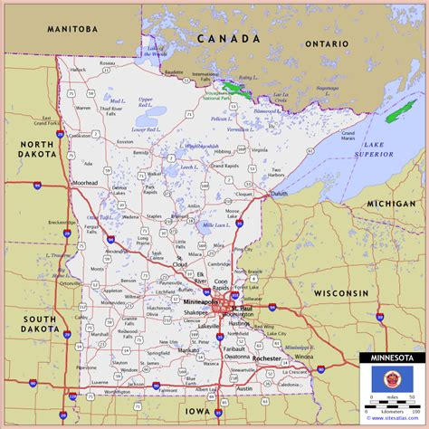 map of mn minnesota map map legend map copyright world