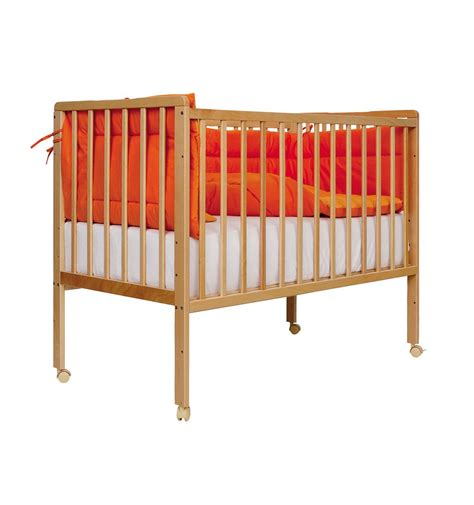 baby futon baby cot bed 60 120cm minny nature