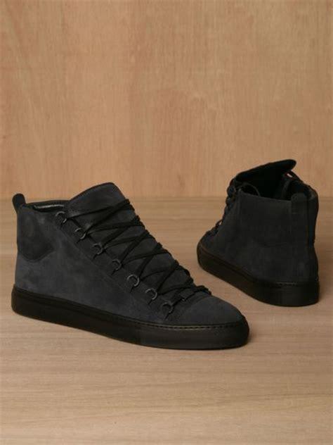 balenciaga mens sneakers balenciaga mens sport shoes in blue for indigo lyst
