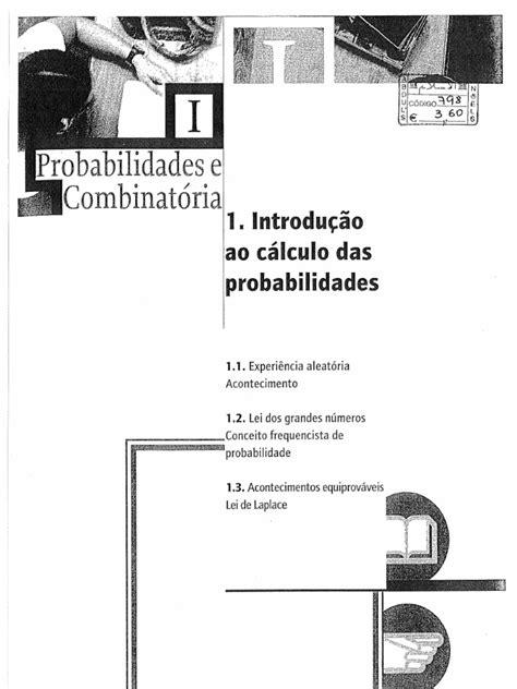 Introducao Ao Calculo Das Probabilidades e Combinatoria Livro