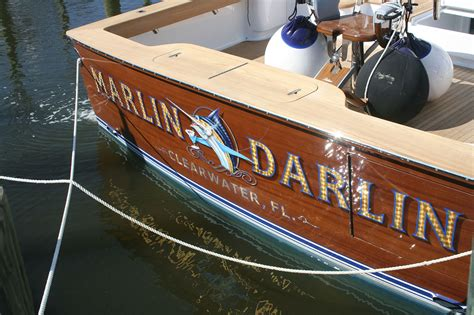 where is the transom on a boat marlin darlin clearwater florida boat transom boats