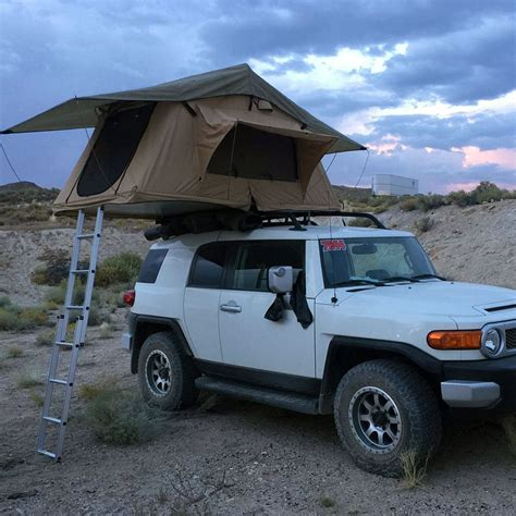 Off Road Vehicle Awnings Tuff Stuff 174 Quot Delta Quot Overland Rooftop Tent Tuff Stuff