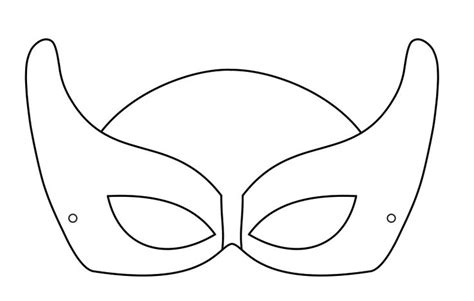 printable geometric mask template superhero mask templates google search paper crafts