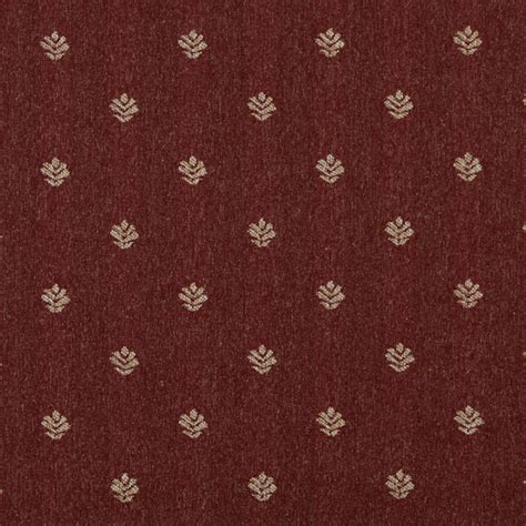 Country Upholstery Fabric by Rustic And Beige Leaves Country Upholstery Fabric By