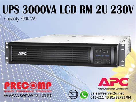Ups Apc Smart Smt3000rmi2u apc smart ups 3000va lcd rm 2u 230v end 5 10 2016 11 15 am