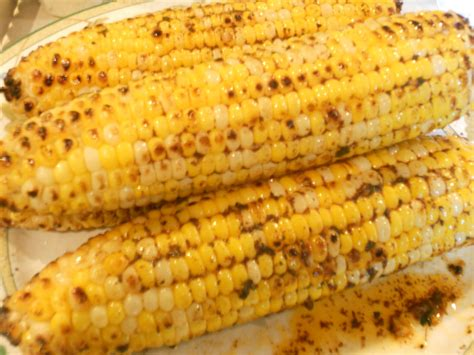 amazing grilled corn with chili lime butter just one donna