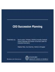 Succession Plan Templates by Ceo Succession Planning Template Free