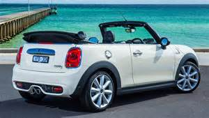 Convertable Mini Cooper 2016 Mini Cooper S Convertible Review Road Test Carsguide