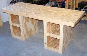 diy build desk kreg project plans   desk