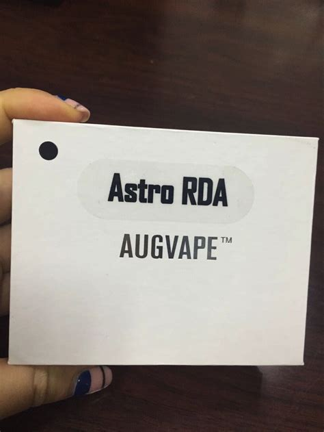 Astro Rda Augvape 22mm performance mini 22mm augvape astro rda atomizer is coming with best price