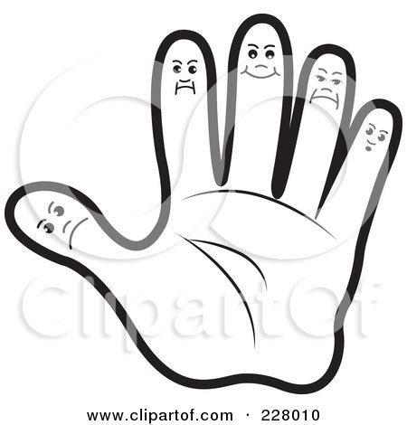 coloring pages of hands and feet foot fingers clipart cliparthut free clipart