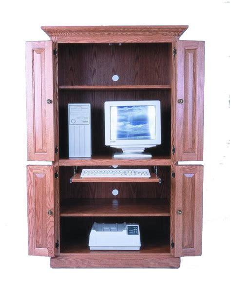 amish 40 quot computer armoire desk