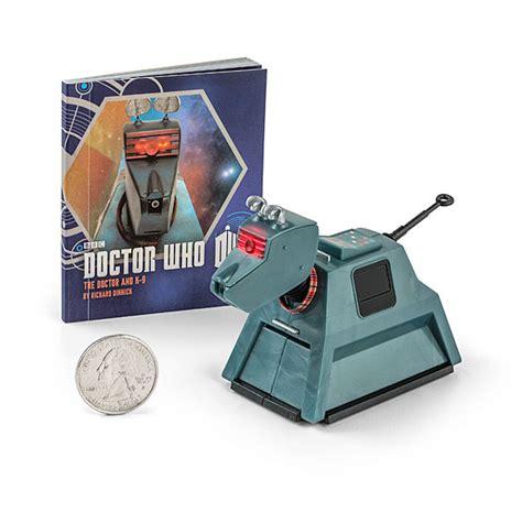 k 9 figure doctor who k 9 book and figure set